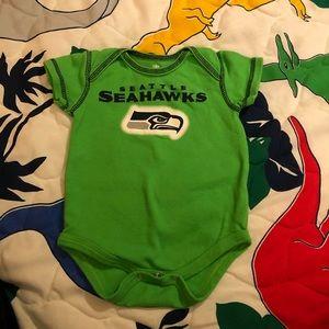 Seattle Seahawks Onesie
